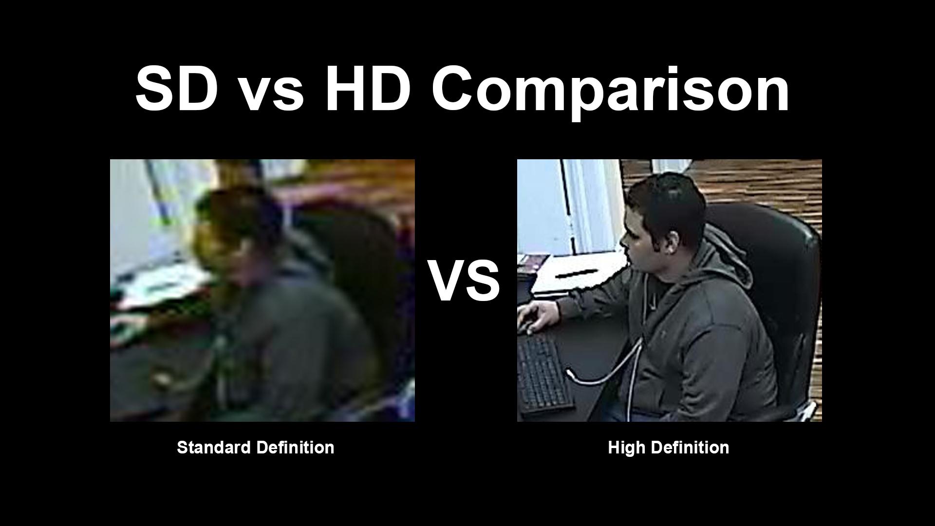 1080p vs 480i CCTV Blown Up Detail | The Home Hub