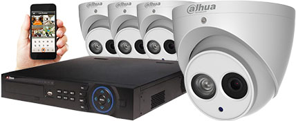 4mp CCTV camera package